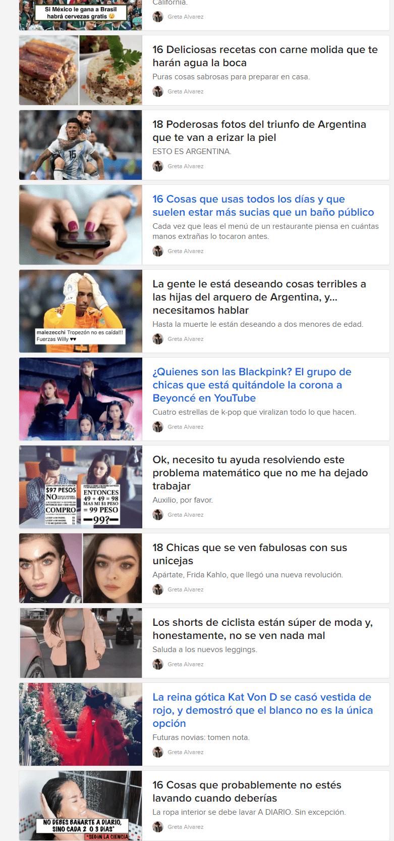 clickbait buzzfeed ejemplos