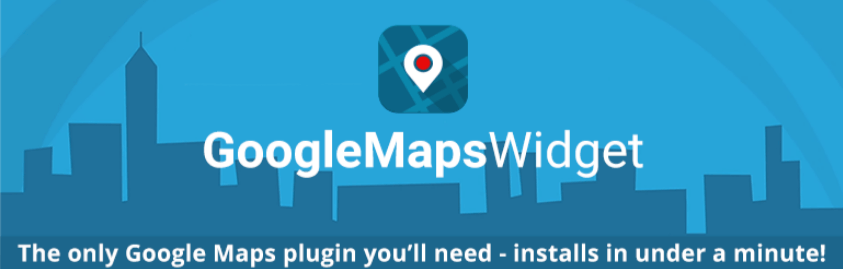 Google Maps Widget wordpress
