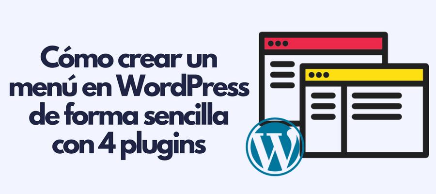 Menu en WordPress