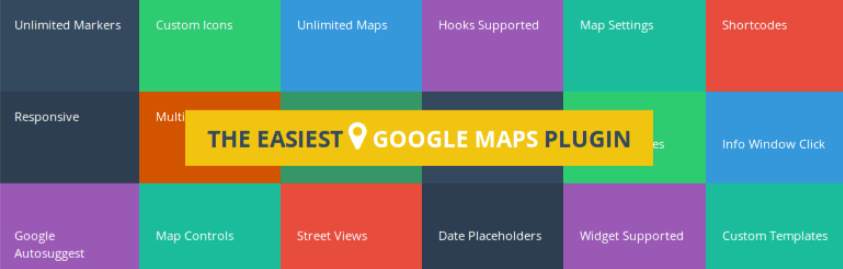 WP Google Map Plugin wordpress