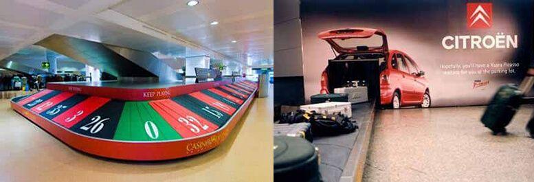 anuncios originales aeropuertos