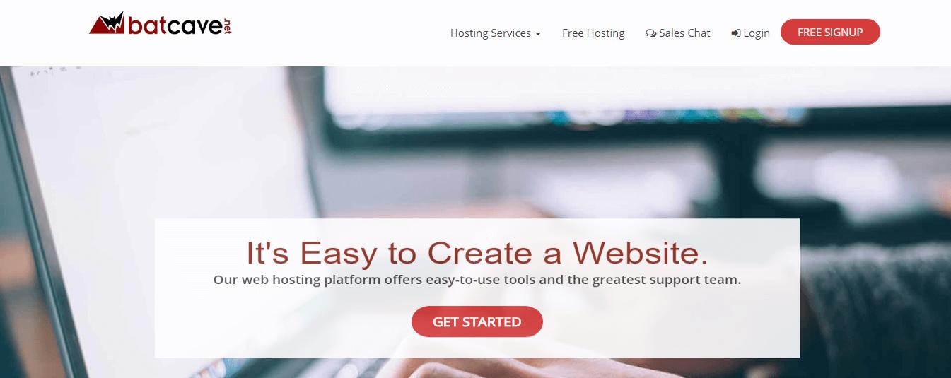 hosting gratis web batcave