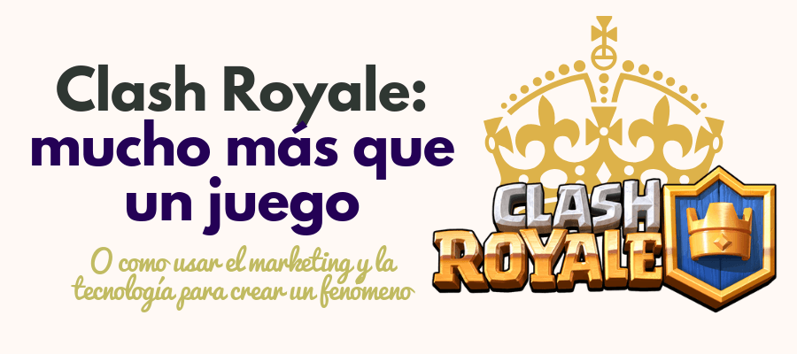 clash royale marketing