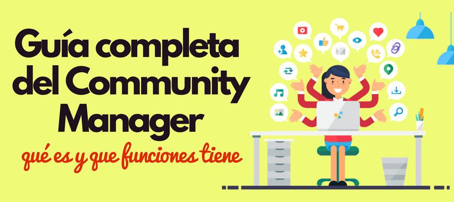 community manager que es y funciones