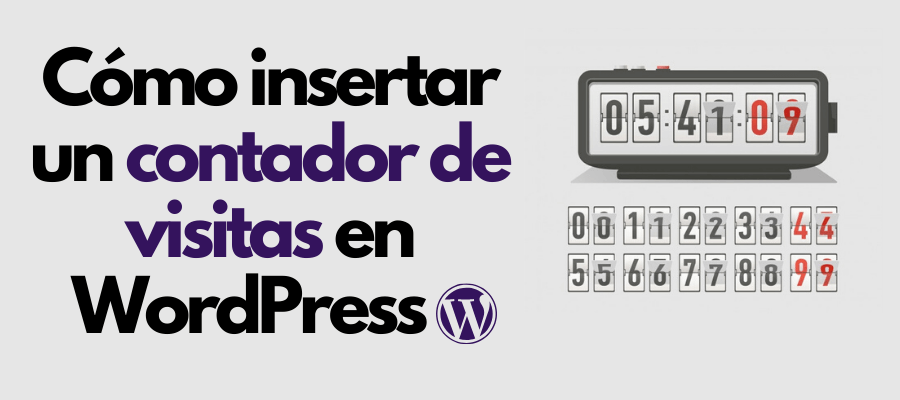 contador de visitas wordpress