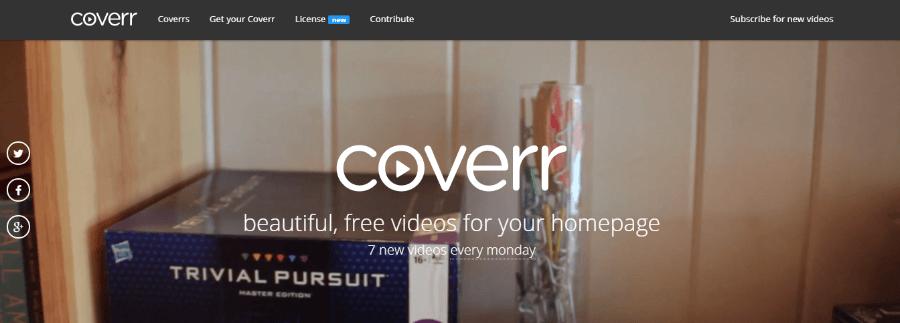 banco de vídeos gratis coverr