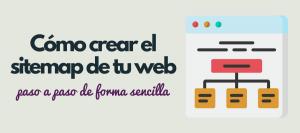 crear sitemap web