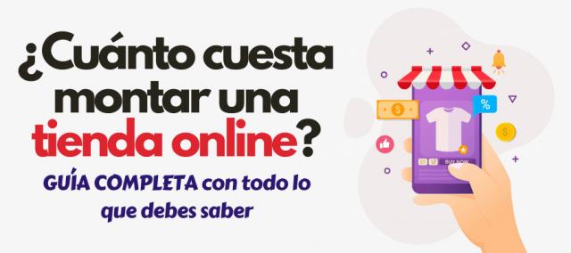 cuánto cuesta una tienda online inversión