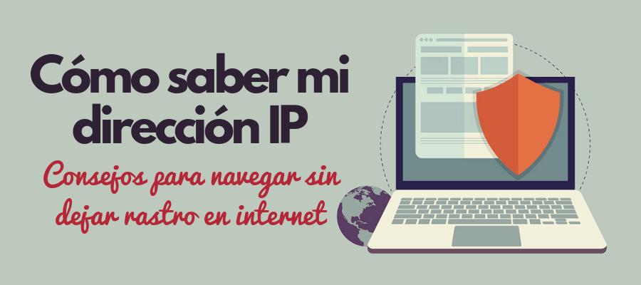Saber dirección IP