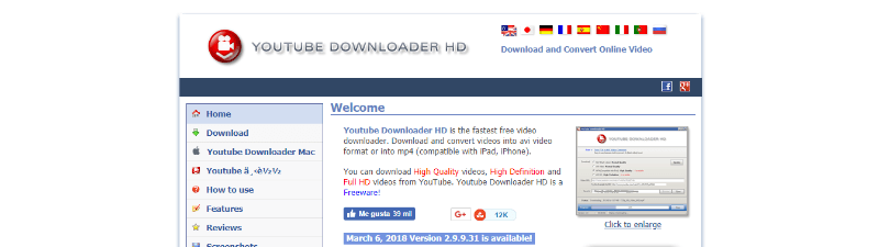 programa descargar vídeos gratis youtube downloader