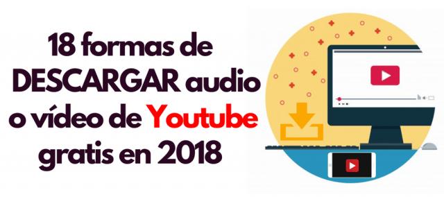 descargar videos youtube audio musica herramientas