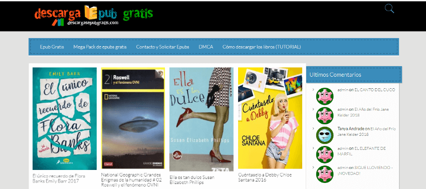 descagrar libros ePub gratis español
