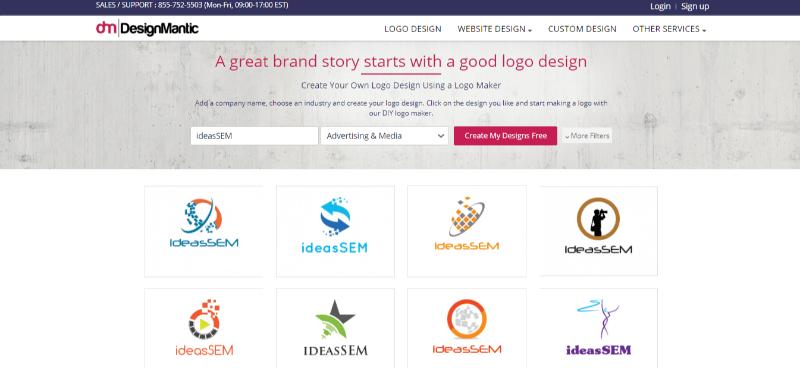 herramientas creación de logos online