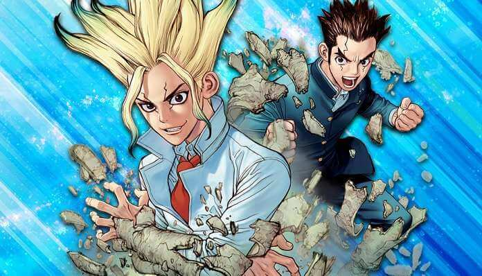 animes dr. stone