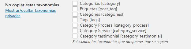 duplicar páginas entradas wordpress