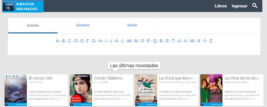 descargar libros gratis español varios formatos