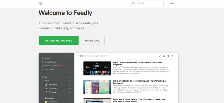 herramientas para twitter feedly curación de contenidos