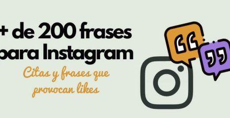 frases para instagram lista