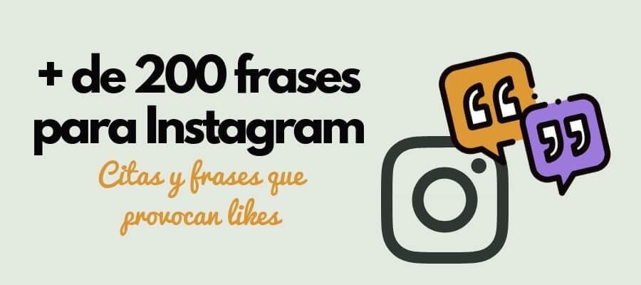 Las 200 Mejores Frases Para Instagram Y Otras Redes Sociales