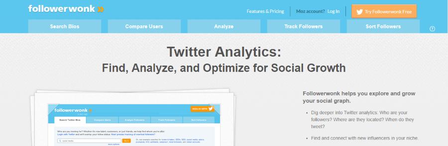 herramientas twitter followerwonk