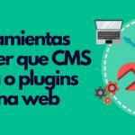 como saber que CMS usa una web plantillas plugins código