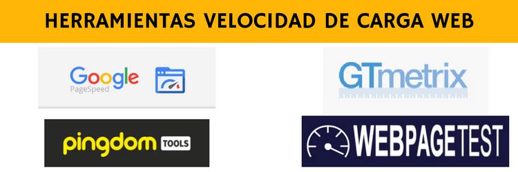 herramientas para medir y analizar la velocidad de carga web