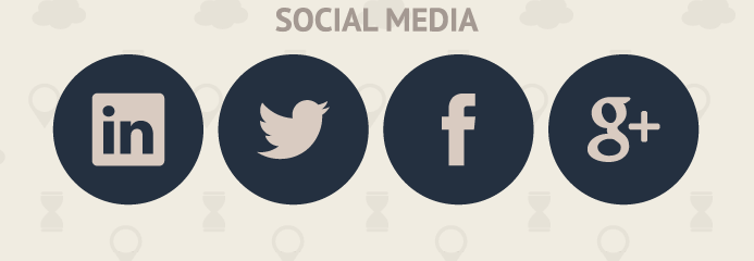 iconos redes sociales redondos gratis