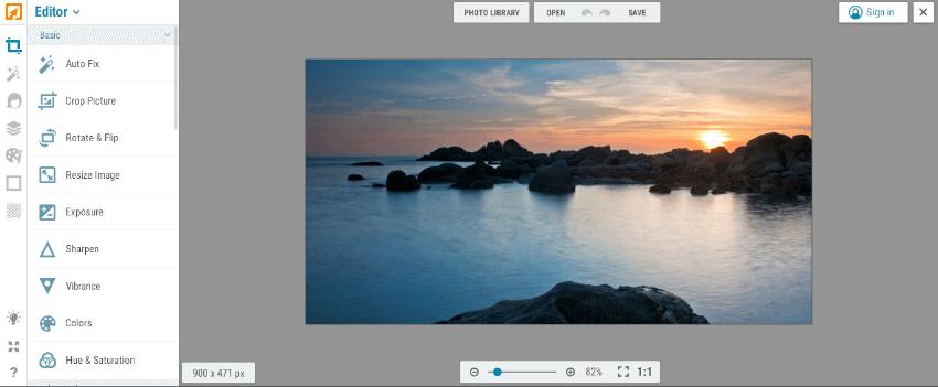 programas de edición de fotos gratis online español ipiccy