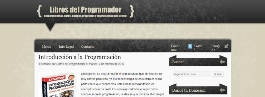 descargar gratis libros programación informática
