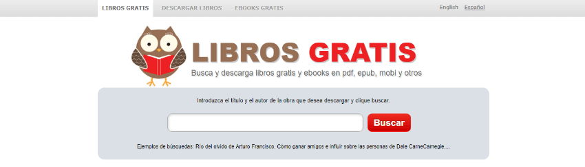 descargar libros gratis español buscador