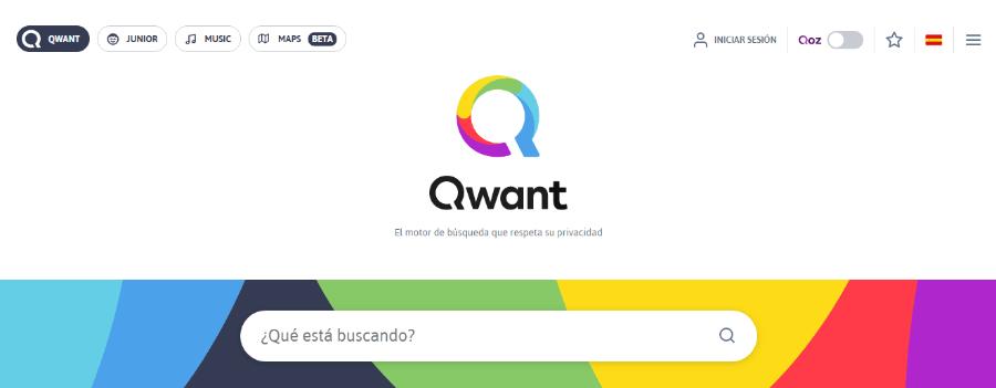 mejores buscadores de internet qwant