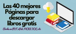 descargar libros gratis ebooks español