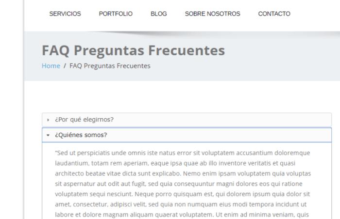 plugin faq para wordpress preguntas frecuentes