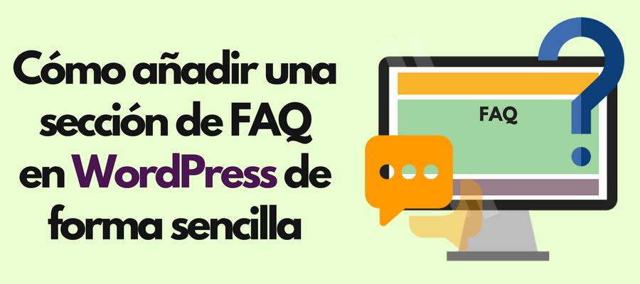 plugin faq wordpress para mostrar preguntas frecuentes