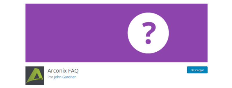 plugin faq wordpress preguntas frecuentes