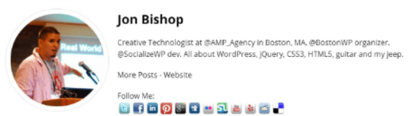 plugins autor wordpress