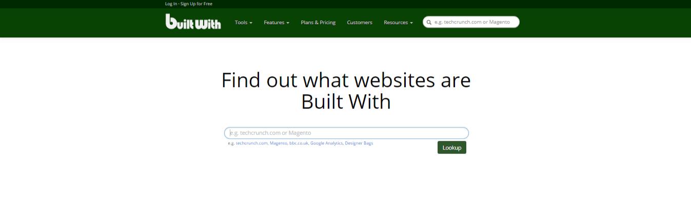 saber que cms usa una web plantilla plugins