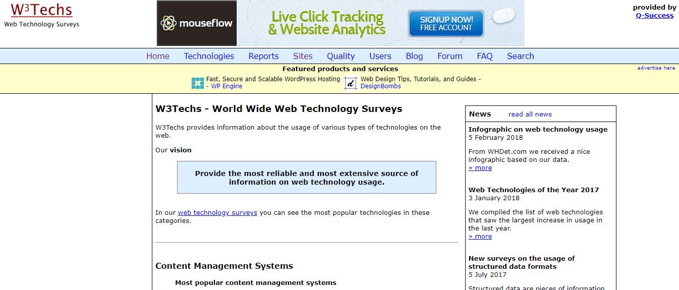 detectar cms de una web plugins