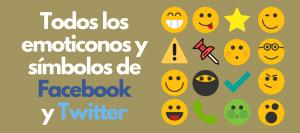 simbolos para facebook iconos emojis emoticonos flechas
