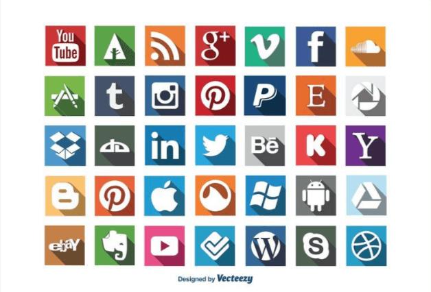 iconos redes sociales gratis