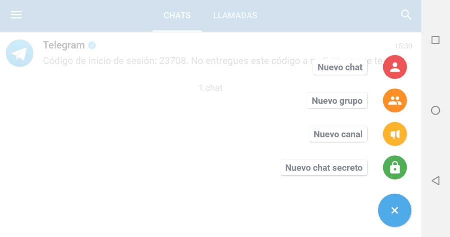 telegram X smartphone