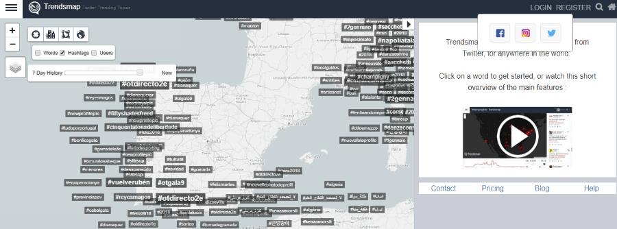 herramientas twitter tendencias trendsmap