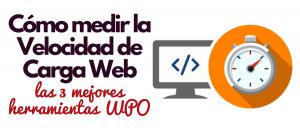 velocidad de carga web wpo herramientas test