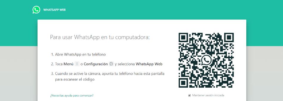 whatsapp web qué es iniciar sesión
